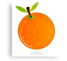 Orange fruit : for all Orange LOVERS Canvas Print