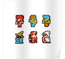 Final Fantasy: Team up (Redux) Poster