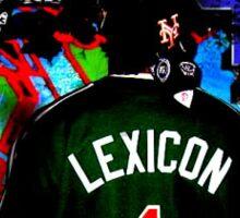 taeOne & LEX - The Vague Clarity Remixes Album Artwork Sticker