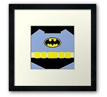 Superhero 004 Framed Print