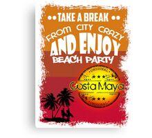 Costa Maya Good Time Canvas Print