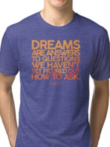 X-Files Dreams Tri-blend T-Shirt