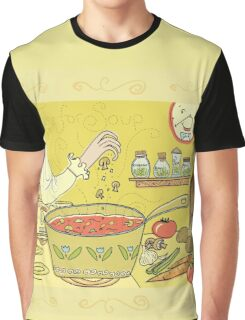 Time For Soup Graphic T-Shirt