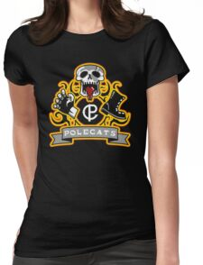 Polecats Patch Womens Fitted T-Shirt