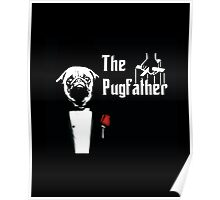 The Pugfather Poster