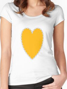 0694 UCLA Gold Women's Fitted Scoop T-Shirt