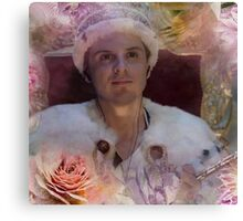 You Should See Him in a Crown Canvas Print