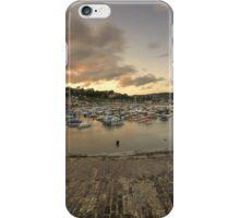 Lyme Regis Harbour  iPhone Case/Skin