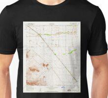USGS TOPO Map Arizona AZ Sacaton NE 313186 1956 24000 Unisex T-Shirt
