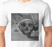 Valley of the Skulls I BW Unisex T-Shirt