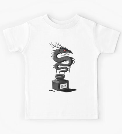 Ink Dragon Kids Tee