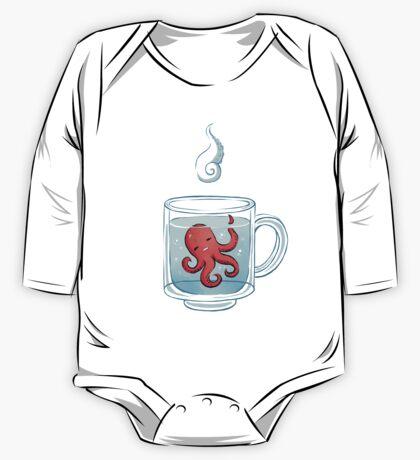 Octopus Tea One Piece - Long Sleeve