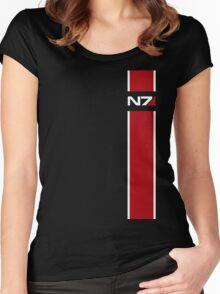 Mass Effect N7 Women's Fitted Scoop T-Shirt
