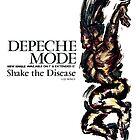 Depeche Mode : Shake the Disease - Poster by Luc Lambert