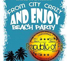 Republic Of Fiji Beach Day by dejava