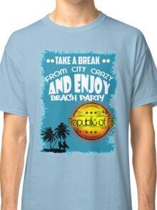 Republic Of Fiji Beach Day Classic T-Shirt