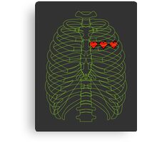 x-ray gamer Canvas Print