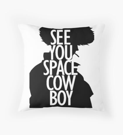 Cowboy Bebop - See You Space Cowboy 2 Throw Pillow