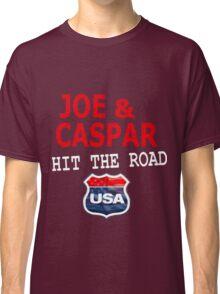 JOE AND CASPAR HIT THE ROAD USA Classic T-Shirt