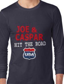 JOE AND CASPAR HIT THE ROAD USA Long Sleeve T-Shirt