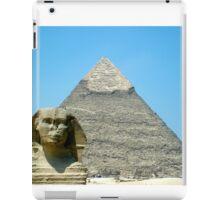 Time Stands Still- Pyramids iPad Case/Skin