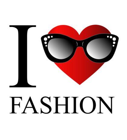 I love fashion Sticker