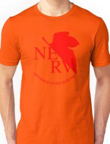 Nerv Logo, Neon Genesis Evangelion Unisex T-Shirt