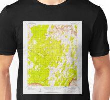 USGS TOPO Map Arizona AZ Paria Plateau 314874 1954 62500 Unisex T-Shirt