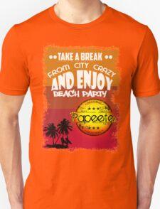 Tahiti Summer Beach Day Unisex T-Shirt