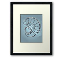 The Lost City's Lost Language  Framed Print