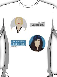 ProPunk Texts - Orphan Black T-Shirt