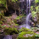 Cascade des Razes, Cantal, Auvergne, France by 7horses