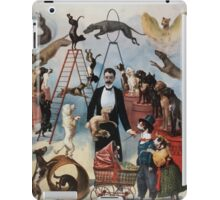 Performing Arts Posters Trained dog act 0553 iPad Case/Skin