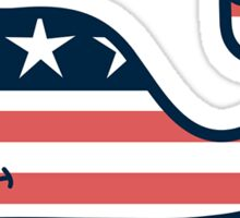 USA Vineyard Vines  Sticker