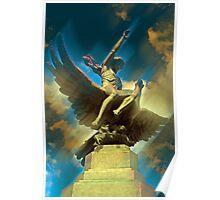 Zeus & Ganimedes Poster