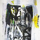 Power of a Magnet, Abstract Original painting ART by Dmitri Matkovsky
