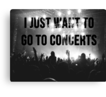concerts pls Canvas Print