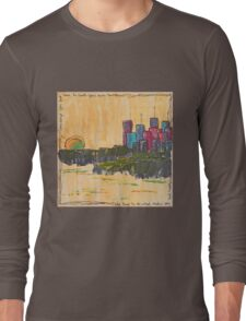 Cityscape by Day Long Sleeve T-Shirt