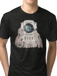 hello world Tri-blend T-Shirt