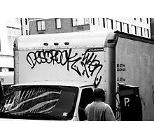 New York Graffiti Photographic Print