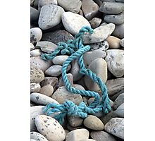 Blue Rope Photographic Print