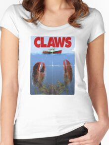 Gonna need a bigger boat! Women's Fitted Scoop T-Shirt