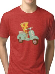 pizza delivery Tri-blend T-Shirt