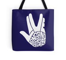 Live Long and Prosper White Tote Bag