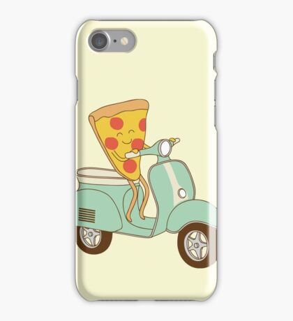 pizza delivery iPhone Case/Skin
