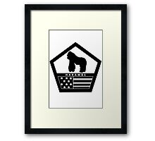 Remember Harambe Framed Print