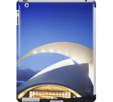 Music Hall in Tenerife island iPad Case/Skin