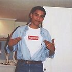 Barack Obama - Supreme by mellotrill