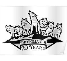 ΦΣX   Phi Sigma Chi 20 Year Anniversary Poster