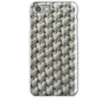 Big knit stitches iPhone Case/Skin